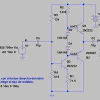 Amplificador de clase B (push-pull)