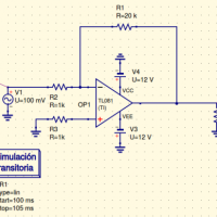 El amplificador operacional. Ganancia, ancho de banda, frecuencia unidad...