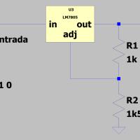 Utilizar un regulador fijo de tensión y obtener de el una tensión de salida superior.